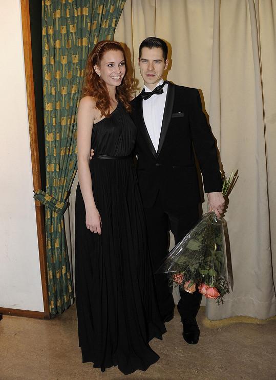 Denisa s přítelem Vilémem Postráneckým
