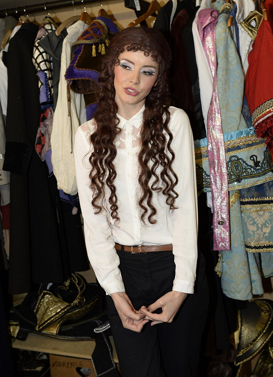 Gábina Kratochvílová si užívala nejen dlouhé vlasy...