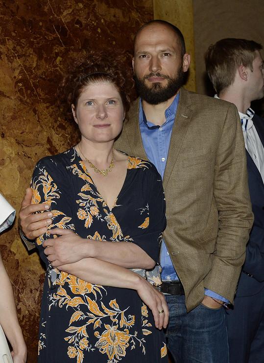Režisérka se svým manželem, kameramanem Matějem Cibulkou