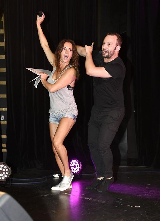 Cvičení a tancování s Markem Dědíkem