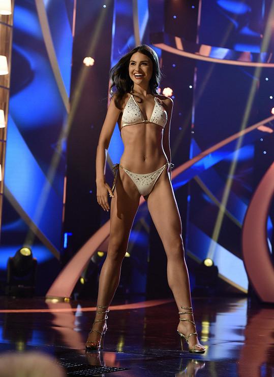 Tereza Bagarová na finále České Miss 2019