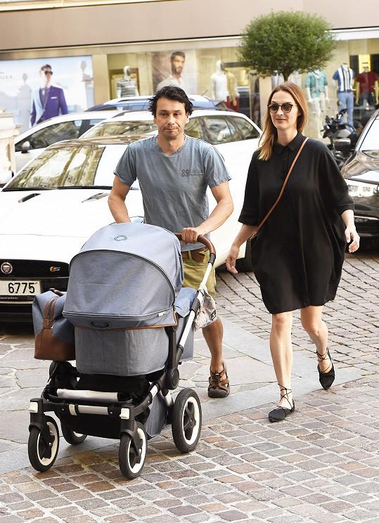 Barbora Poláková a Pavel Liška mají dvě dcery - Ronju a Riku.
