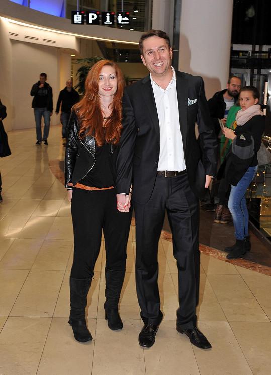 Moderátor zpráv na Primě Tomáš Hauptvogel s partnerkou jsou také fanoušky sci-fi.