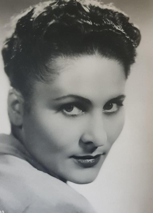 Za války patřila k nejkrásnějším a nejobsazovanějším herečkám...