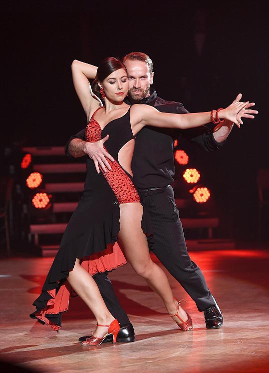 Veronika Lálová tančila i s Janem Révaiem.