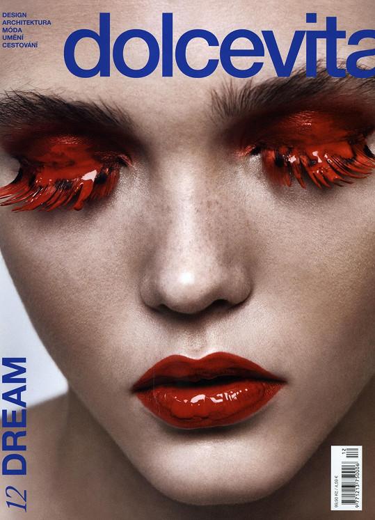 Tvrdíková na obálce magazínu Dolce Vita
