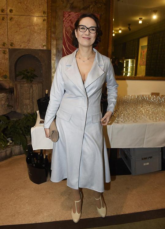 Tereza Kostková na premiéře filmu Můj příběh