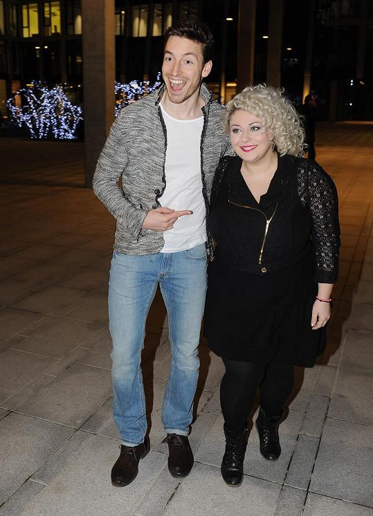 Martin je velkým fanouškem zpěvačky Dannie, která na večírek rovněž dorazila.
