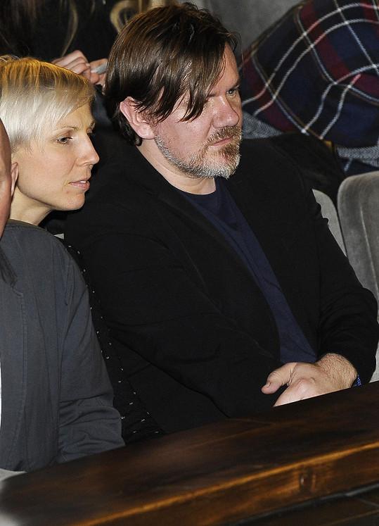 Michal Hrůza v publiku