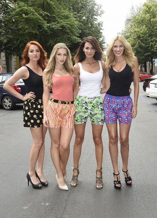Eliška fotila kampaň ve stylu seriálu Sex ve městě.