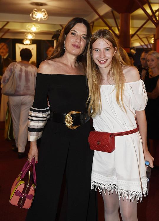 Michaela Jílková s dcerou Marií
