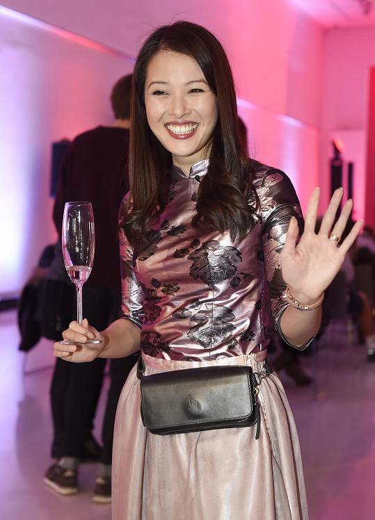 Ha Thanh na tiskové konferenci TV Nova