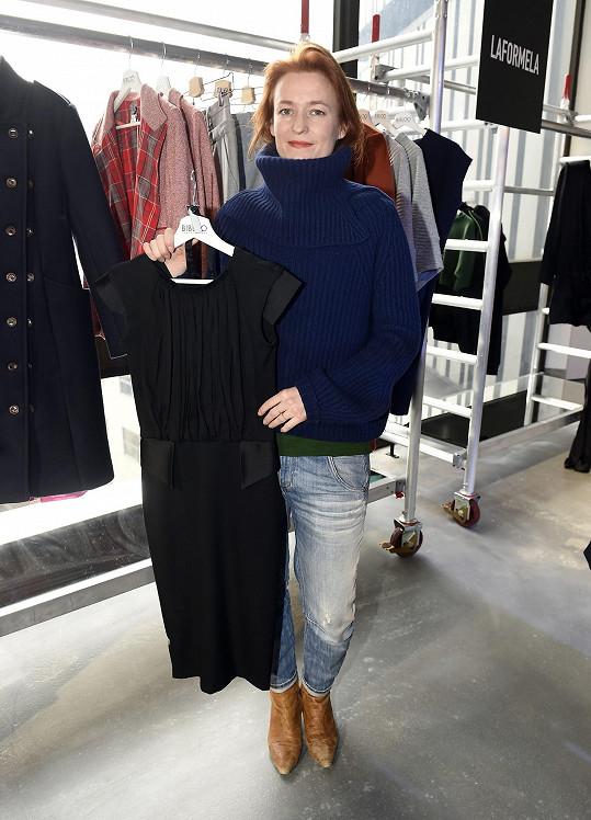 Katka se módními trendy nenechává příliš ovlivňovat.