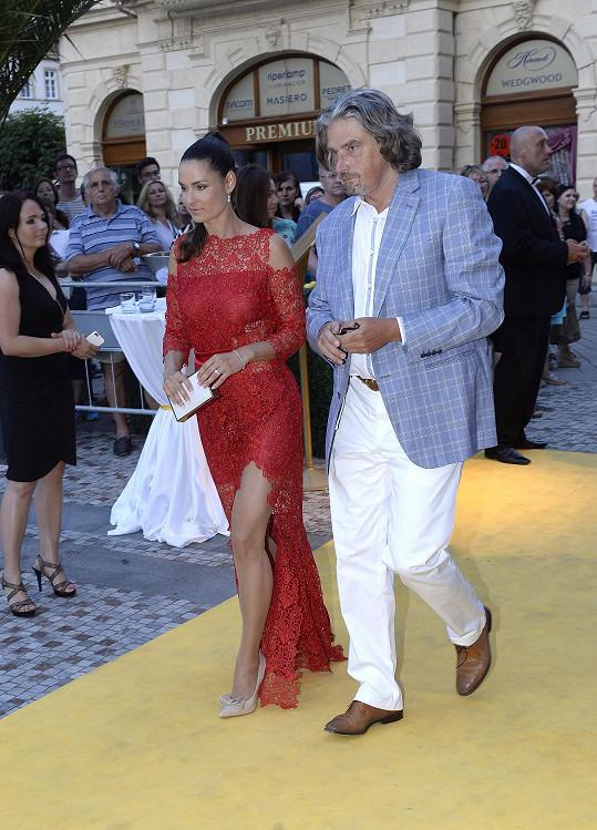 Terezie s manželem Davidem Beranem