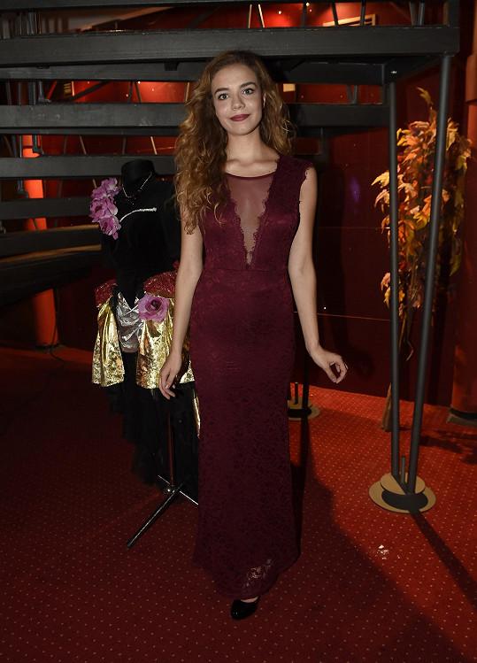 Kristýna Růžičková je nováčkem v souboru GoJa Music hall.
