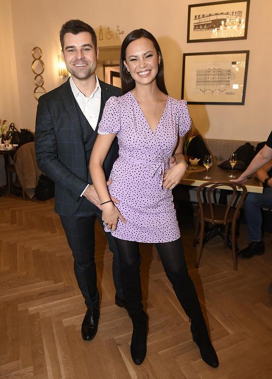 Monika s manželem Martinem