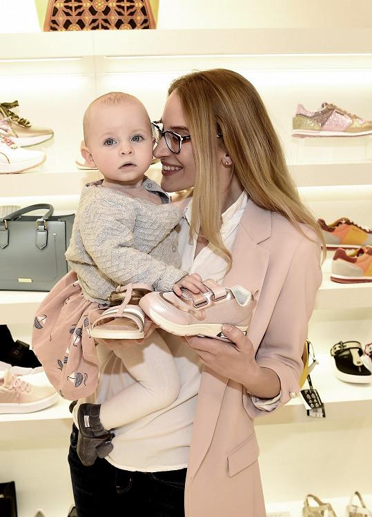 Malá Sofie je celý táta Filip Renč.