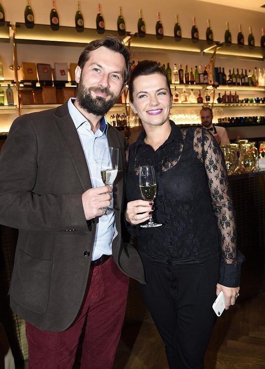 Marta s manželem Mirkem Vernerem