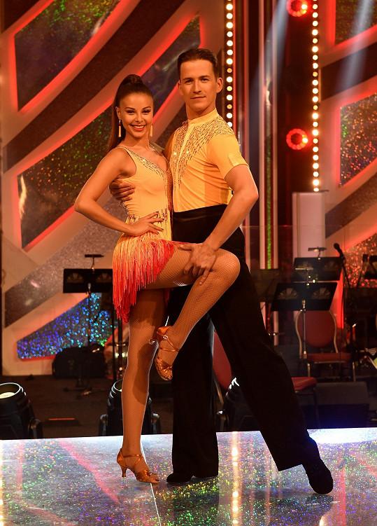 Monika Bagárová a Robin Ondráček končí jako první ve StarDance.