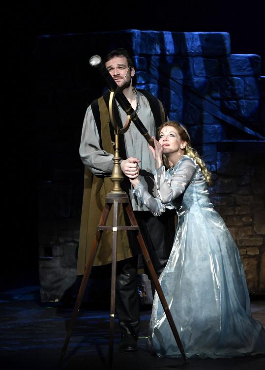 Laurinová se nyní připravuje na obnovenou premiéru Galilea.