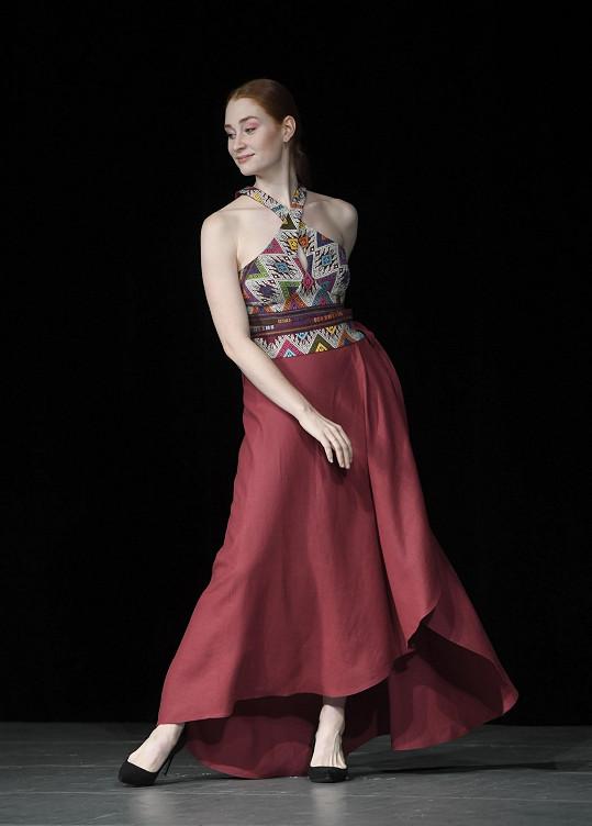 Natálie Halouzková si poprvé vyzkoušela roli modelky.