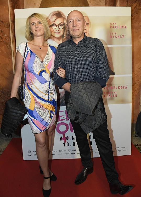 Jašków se s manželkou Petrou objevuje na veřejnosti velmi málo.