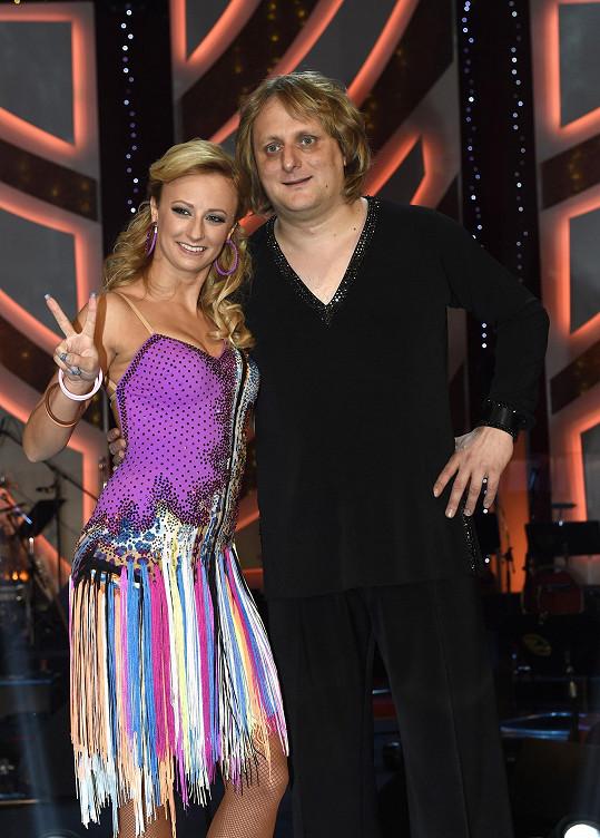S taneční partnerkou Lucií Hunčárovou to ve StarDance dotáhl až na třetí místo.