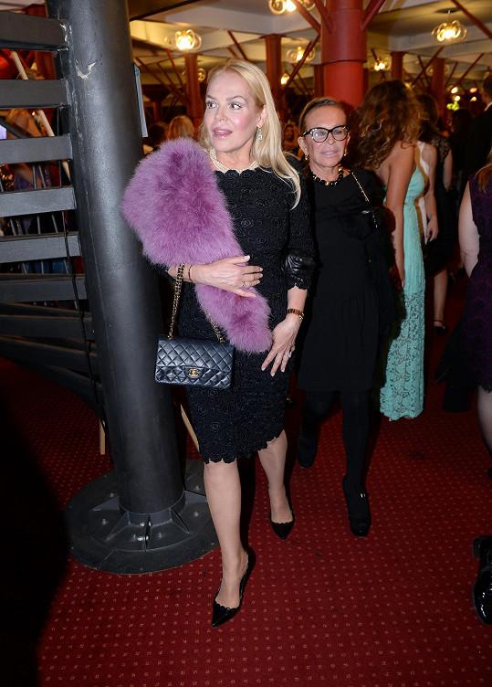 Dagmar Havlová vypadala ten večer úžasně.