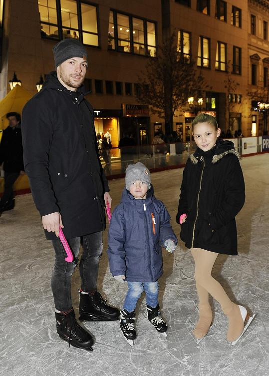 K jejím dětem má hezký vztah i její přítel Michal Gulaši.