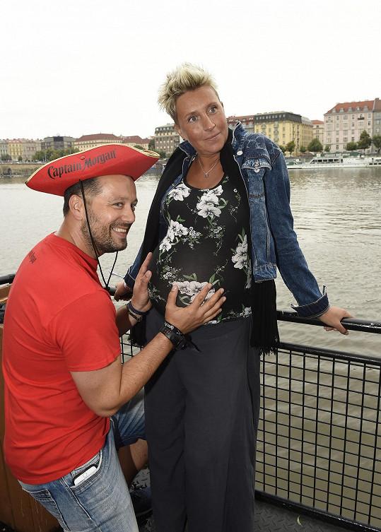 Michal se se snoubenkou Zuzkou těší na prvního potomka.