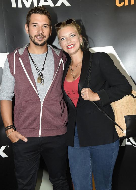Malvína s partnerem Juanem Davidem