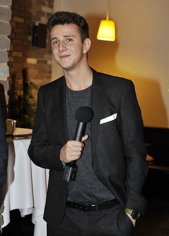 Jakub na představení nového seriálu