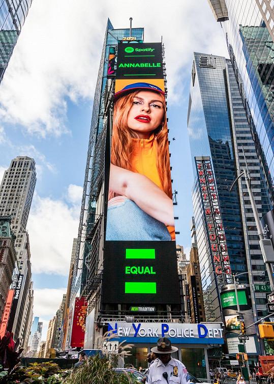 Annabelle je další českou zpěvačkou, kterou vybrali do kampaně EQUAL služby Spotify.