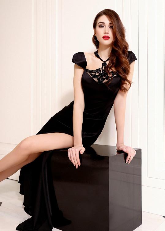 Celá kolekce je podle návrhářky hlavně o kráse ženy.