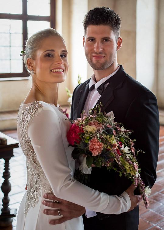 S přítelkyní si řekl ANO na hradě Švihov.