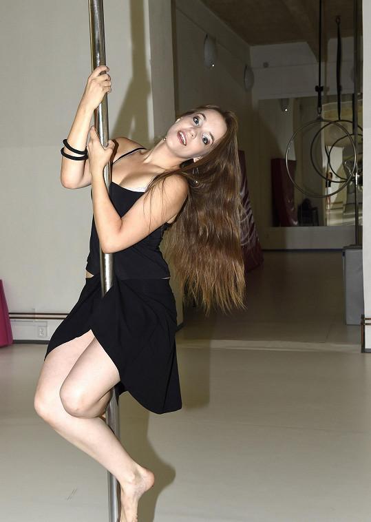 Vlaďka Skalová byla z pole dance nadšená.