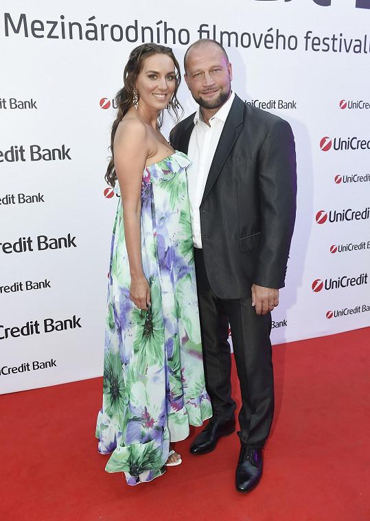 Lucie s manželem Jiřím Šlégrem