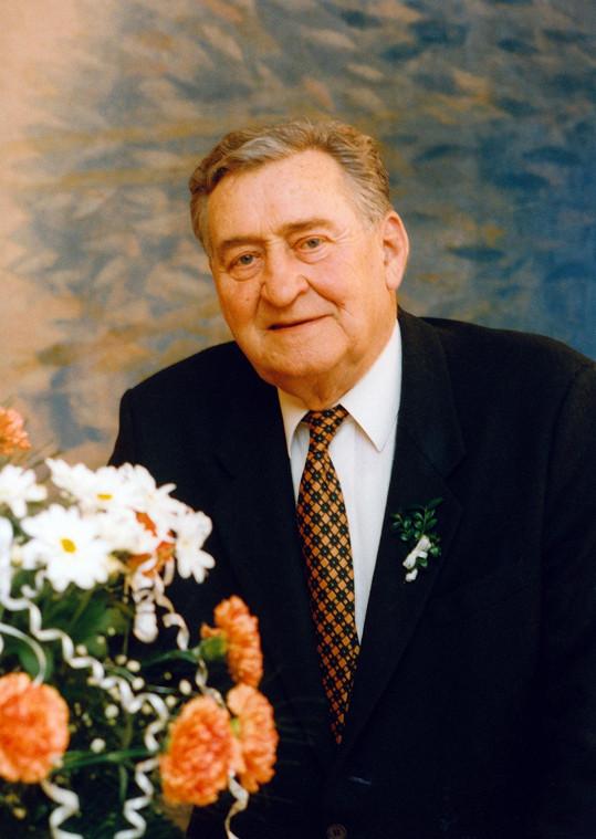 V únoru 1997 na svatbě vnučky Jany