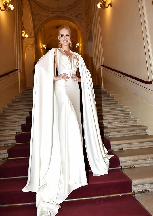 Bloggerka v úchvatných šatech