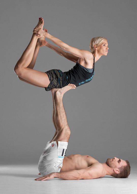 S Hankou Mašlíkovou jsou velkými sportovními nadšenci.