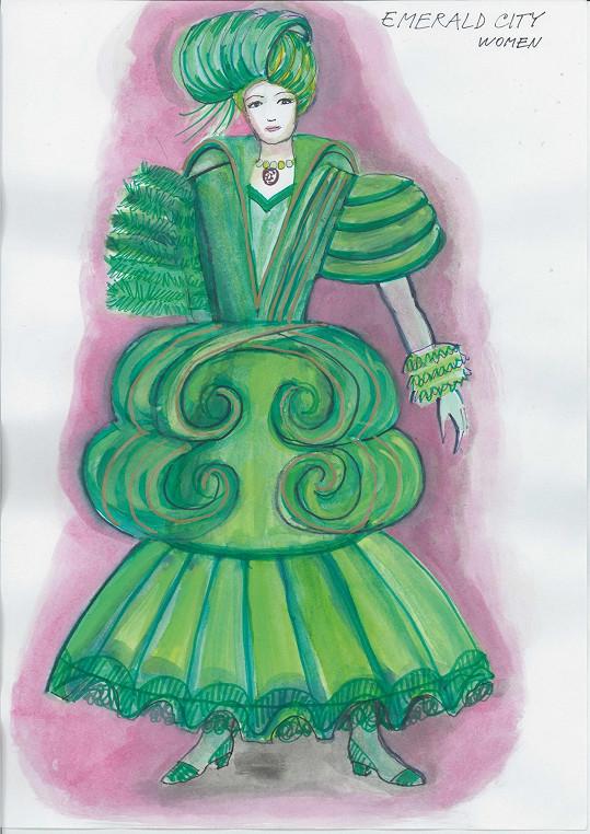 Žena z Emerald City
