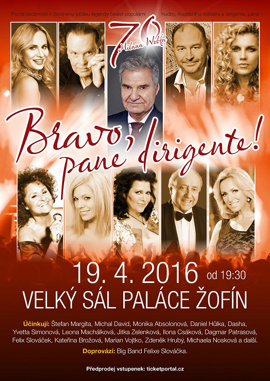 Ilona vystoupí v dubnu na galakoncertu Bravo, pane dirigente. Jaký účes tentokrát předvede?