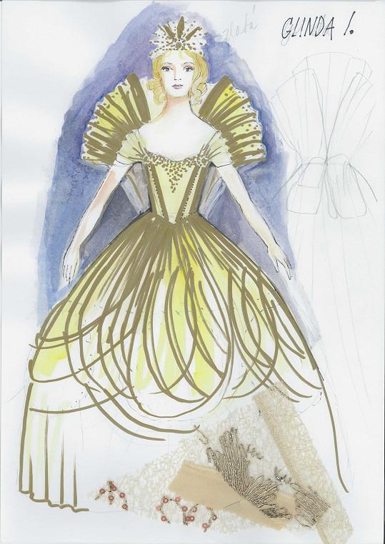 Čarodějka Glinda bude vypadat jako z pohádek Walta Disneyho.