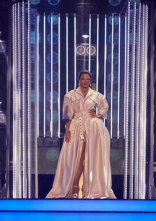 Tereza Mašková jako Rihanna ovládla druhé kolo Tváře.