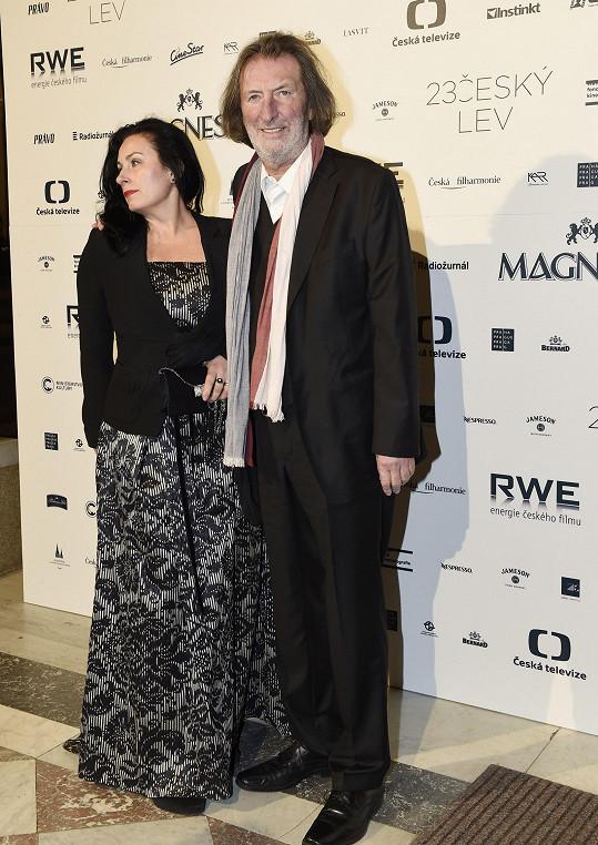 Bolek Polívka s partnerkou Marcelou