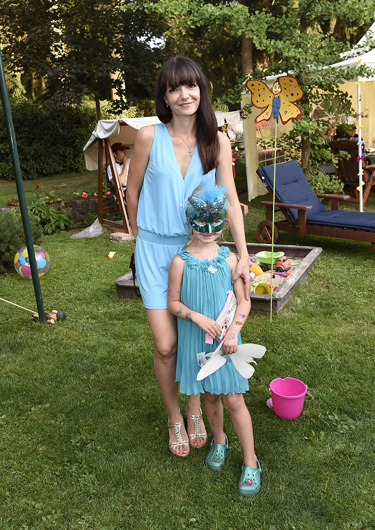 Alice s dcerou Anežkou