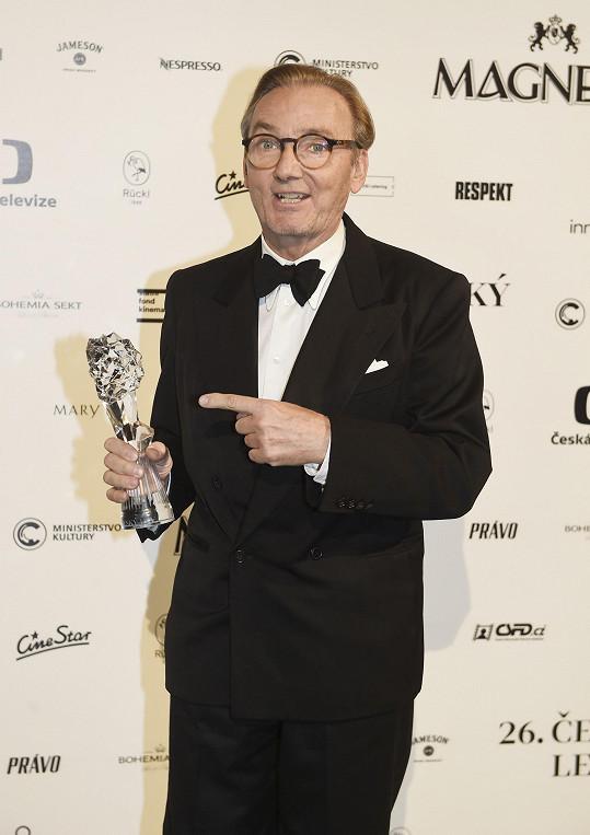 Jeho film Hastrman nakonec posbíral čtyři ocenění.
