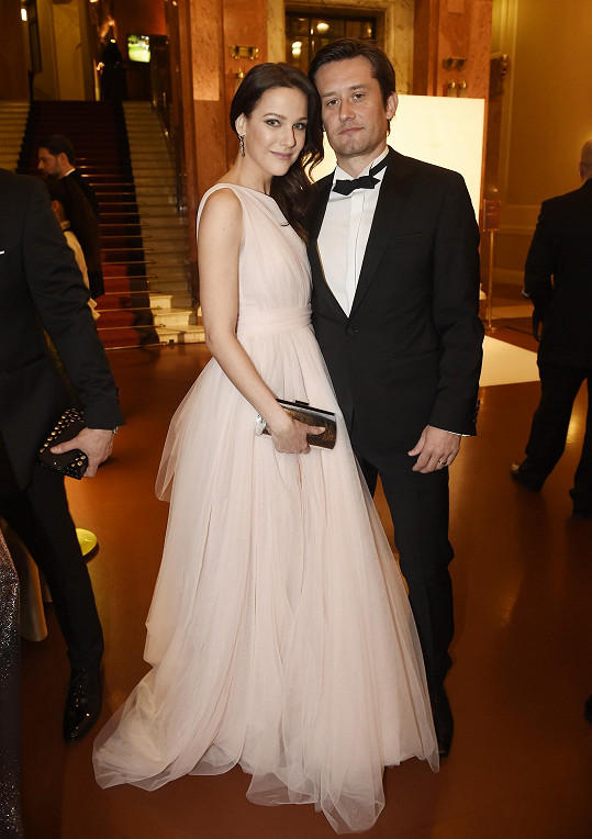 S manželem Tomášem Rosickým