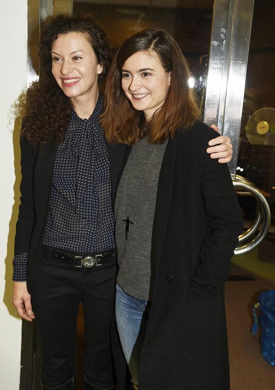 S kolegyní Mášou Málkovou