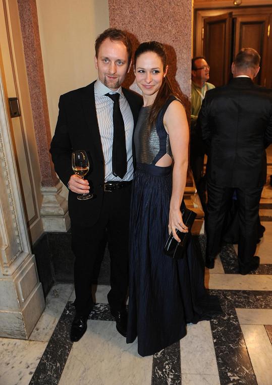 Herečka s manželem Pavlem Khekem